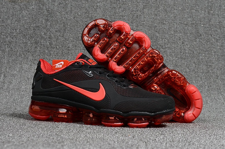 Wholesale Cheap Nike VaporMax Freestyle 2017 Collection Nike VaporMax MD University Red Black - www.wholesaleflyknit.com