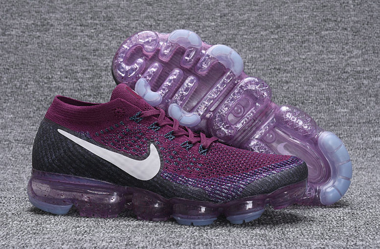 Wholesale Cheap Nike VaporMax Freestyle 2017 Collection Nike VaporMax Purple Black White - www.wholesaleflyknit.com