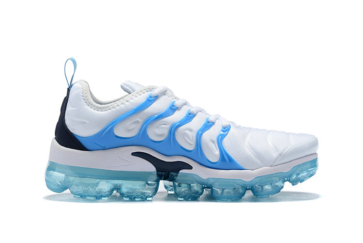 Nike VaporMax Plus White Blue Force-Blue Fury 924453-104 - www.wholesaleflyknit.com