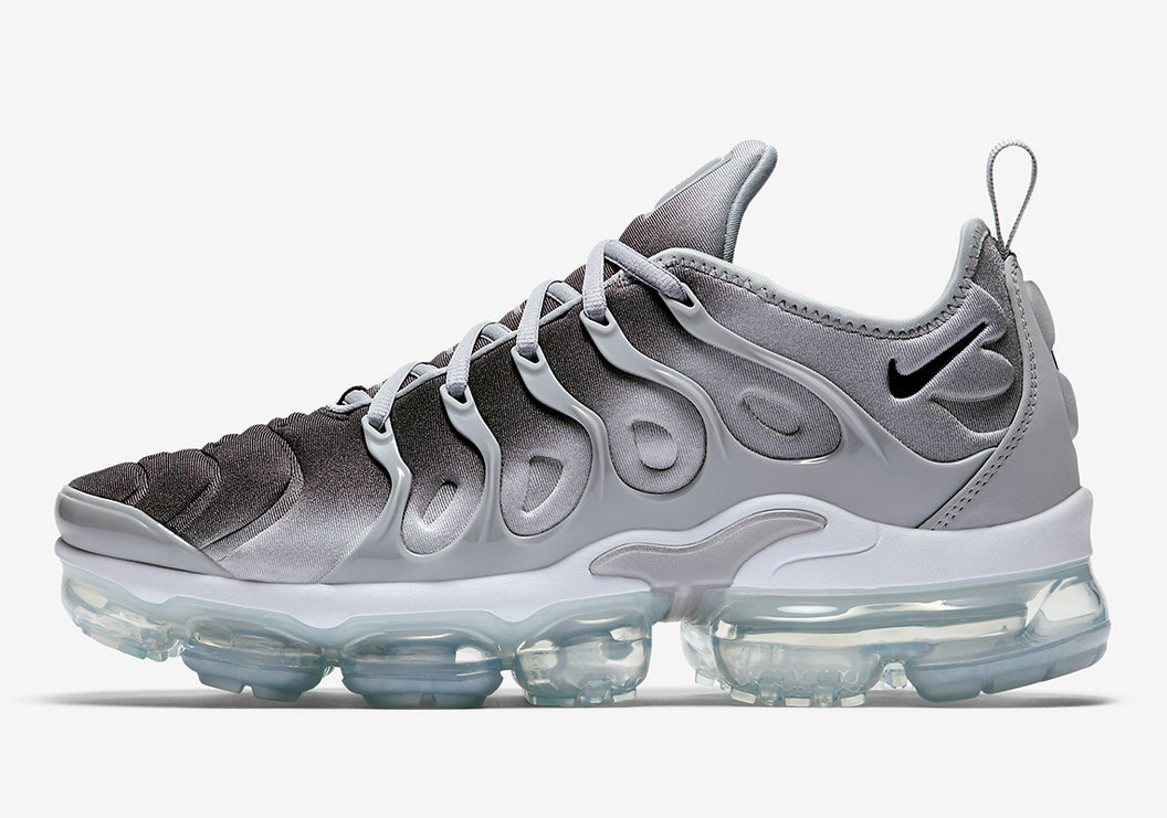 Wholesale Nike VaporMax Plus Wolf Grey Black-White 924453-007-www.wholesaleflyknit.com