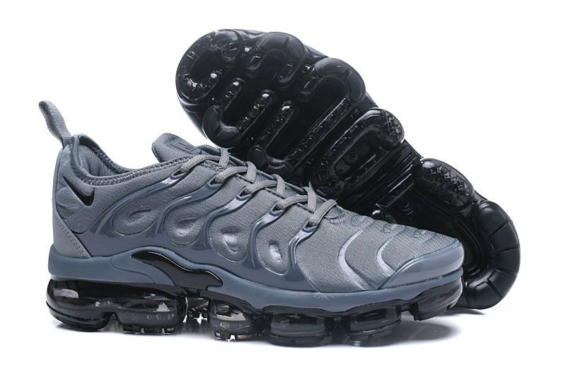Wholesale Nike Vapormax Plus Arrives In A Light Grey Black-www.wholesaleflyknit.com