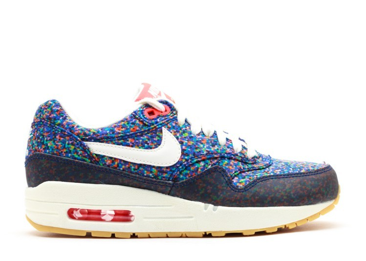 Cheap Wholesale Nike WMNS Air Max 1 Nd Liberty 528712-400 Hyper Blue Sail Total Crimson Gum Yellow - www.wholesaleflyknit.com