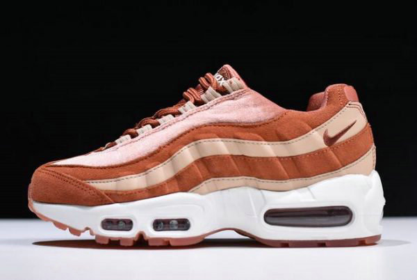 Cheap Wholesale Nike WMNS Air Max 95 LX Dusty Peach Bio Beige AA1103-201 For Sale - www.wholesaleflyknit.com