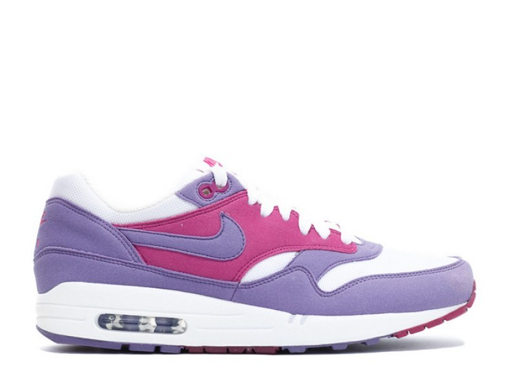 Cheap Wholesale Nike Wmns Air Max 1 Purple Earth 319986-502 Purple Earth-White-Tea Berry-Rave Pink - www.wholesaleflyknit.com