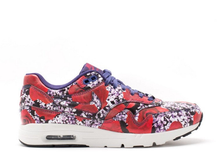 Cheap Wholesale Nike Wmns Air Max 1 Ultra Lotc Qs London 747105-500 Ink Ink-Summit White-Team Red - www.wholesaleflyknit.com