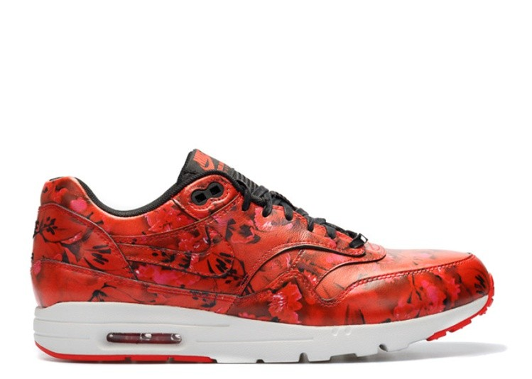 Cheap Wholesale Nike Wmns Air Max 1 Ultra Lotc Qs Shanghai 747105-600 Challenge Red Challenge Red-Summit White-Black - www.wholesaleflyknit.com
