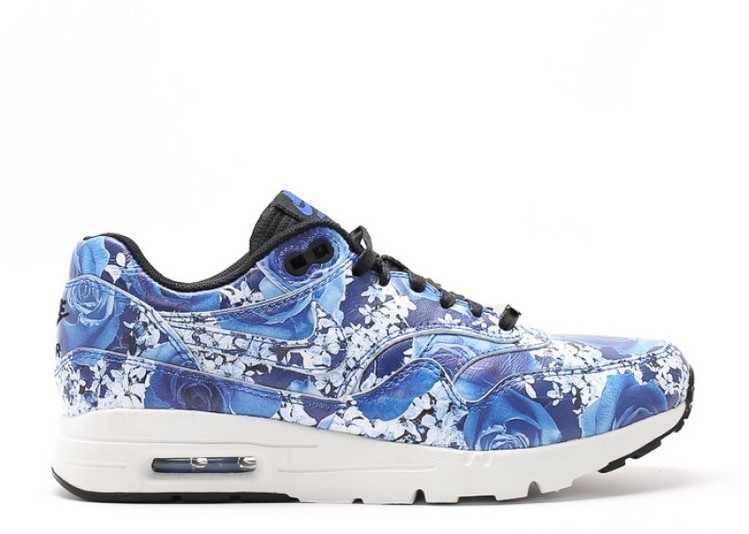 Cheap Wholesale Nike Wmns Air Max 1 Ultra Lotc Qs Tokyo 747105-401 Lyon Blue Lyon Blue-Summit White-Black - www.wholesaleflyknit.com