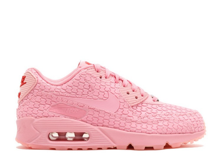 Cheap Wholesale Nike Wmns Air Max 90 Dmb Diamondback Qs Shanghai 813152-600 Space Pink Space Pink-Challenge Red - www.wholesaleflyknit.com
