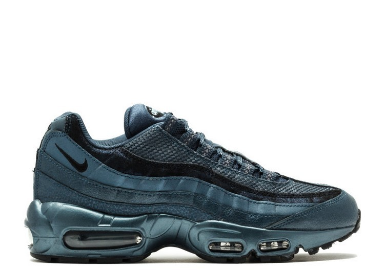 Cheap Wholesale Nike Wmns Air Max 95 Premium 807443-900 Armory Navy Black Squadron Blue - www.wholesaleflyknit.com