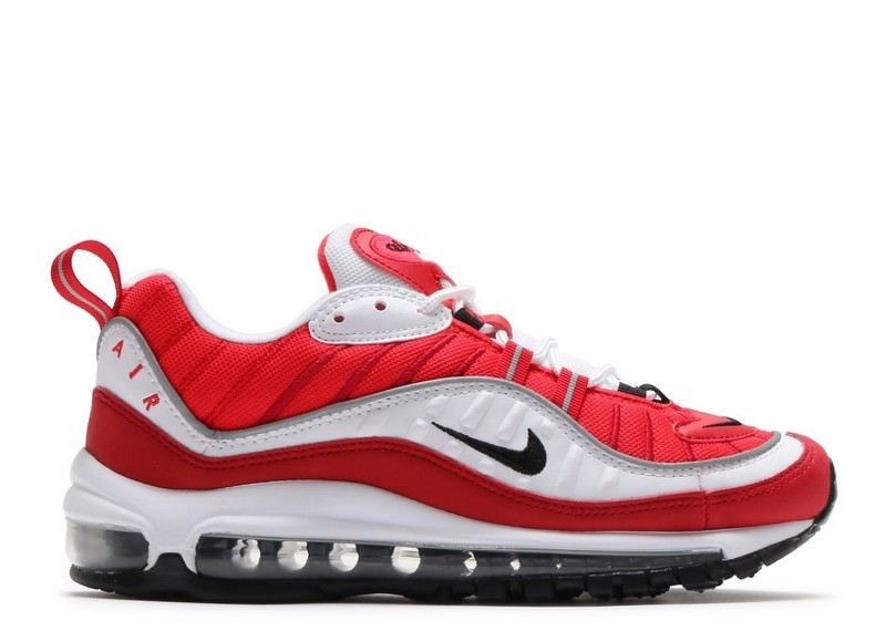 Cheap Wholesale Nike Wmns Air Max 98 Ah6799-101 White Black Gym Red Reflect Silver - www.wholesaleflyknit.com