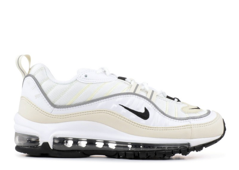 Cheap Wholesale Nike Wmns Air Max 98 Ah6799-102 White Black Fossil - www.wholesaleflyknit.com