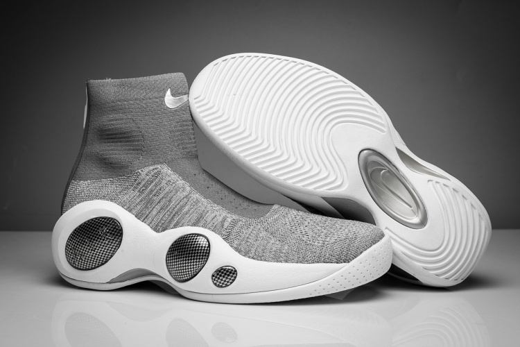 Wholesale Cheap Nike Zoom Flight Bonafide Cool Grey 2017 For Sale - www.wholesaleflyknit.com