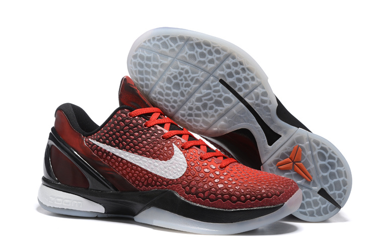 Wholesale Cheap Nike Zoom Kobe 6 All Star Challenge Red White-Black - www.wholesaleflyknit.com
