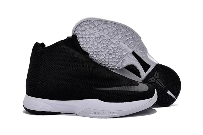 Wholesale Cheap Nike Zoom Kobe Icon Black White - www.wholesaleflyknit.com