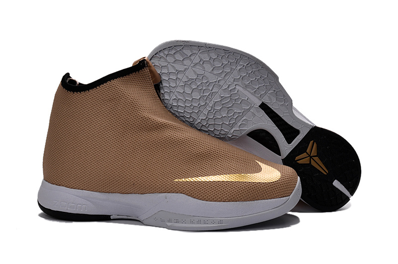 Wholesale Cheap Nike Zoom Kobe Icon Jacquard Metallic Gold 2016 - www.wholesaleflyknit.com