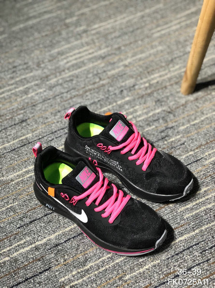 OFF WHITE x Wholesale Nike AIR ZOOM STRUCTURE 21 Mens Womens Pink Black On www.wholesaleoffwhite.com