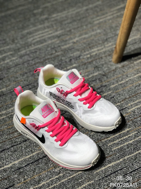 22aca09c5837 OFF WHITE x Wholesale Nike AIR ZOOM STRUCTURE 21 Mens Womens Pink White  Black On www