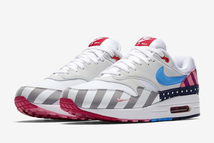 Parra x Nike Air Max 1 White-Pure Platinum AT3057-100 - www.wholesaleflyknit.com