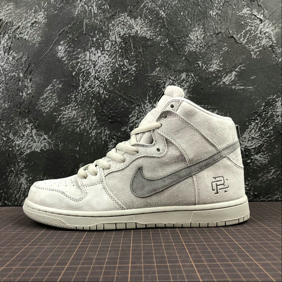 Wholesale Reigning Champ x Nike SB Zoom Dunk High Pro QS Mens AH9166-167 LT.GREY GRIS-www.wholesaleflyknit.com