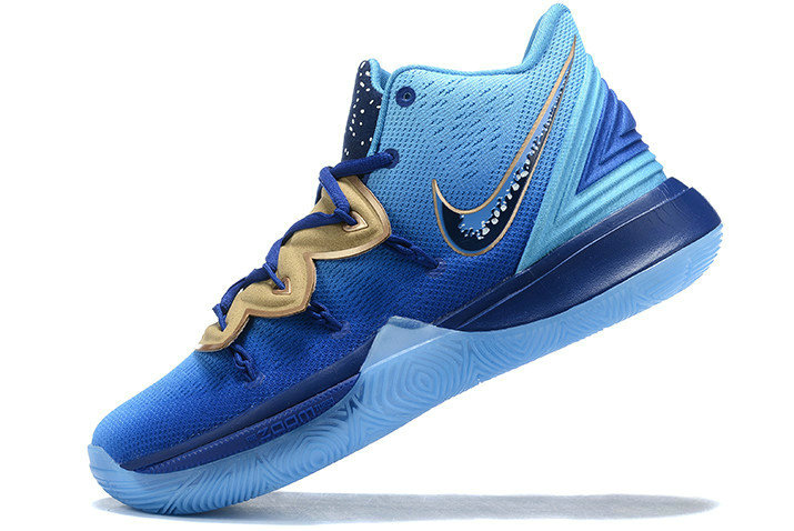 Where To Buy Shop 2019 Concepts x Nike Kyrie 5 Blue Gradient Metallic Gold Shoes - www.wholesaleflyknit.com