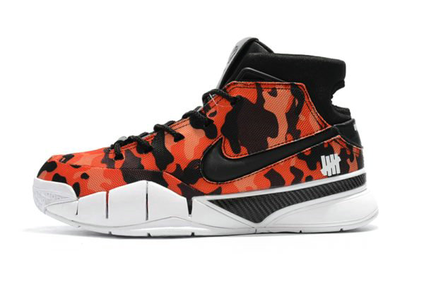 Cheap Wholesale Undefeated x Nike Zoom Kobe 1 Protro Red Camo Mens Shoes For Sale - www.wholesaleflyknit.com