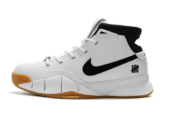 Cheap Wholesale Undefeated x Nike Zoom Kobe 1 Protro White Gum Mens Size Free Shipping - www.wholesaleflyknit.com