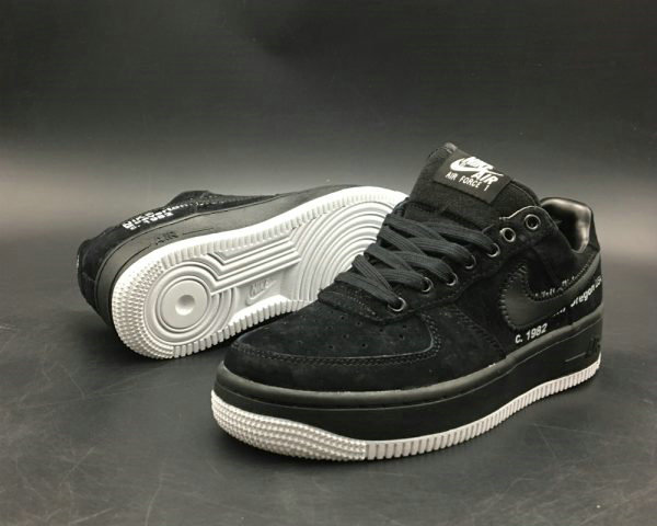 Cheap Wholesale Virgil Abloh x Off-White x Nike Air Force 1s Black For Sale - www.wholesaleflyknit.com