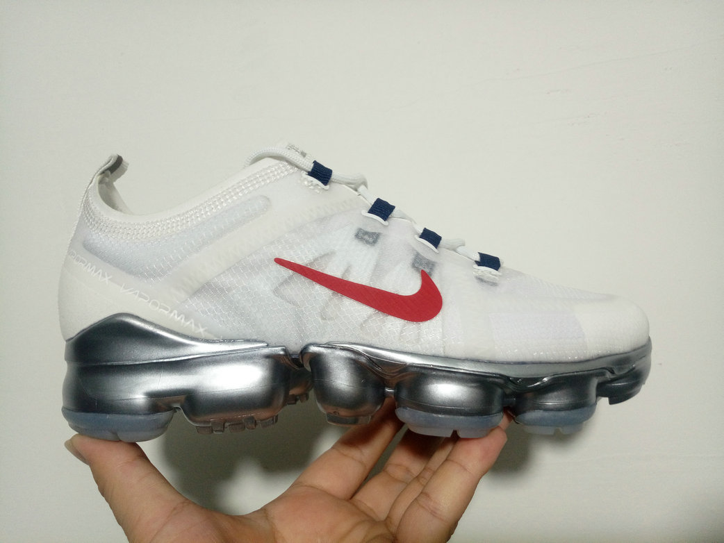 Cheap Wholesale WMNS Nike Air Max 2019 x VaporMax White Red Silver - www.wholesaleflyknit.com