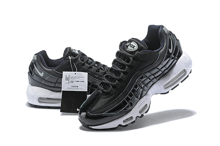 Cheap Wholesale WMNS Nike Air Max 95 HALhes 95 Black Grey White - www.wholesaleflyknit.com