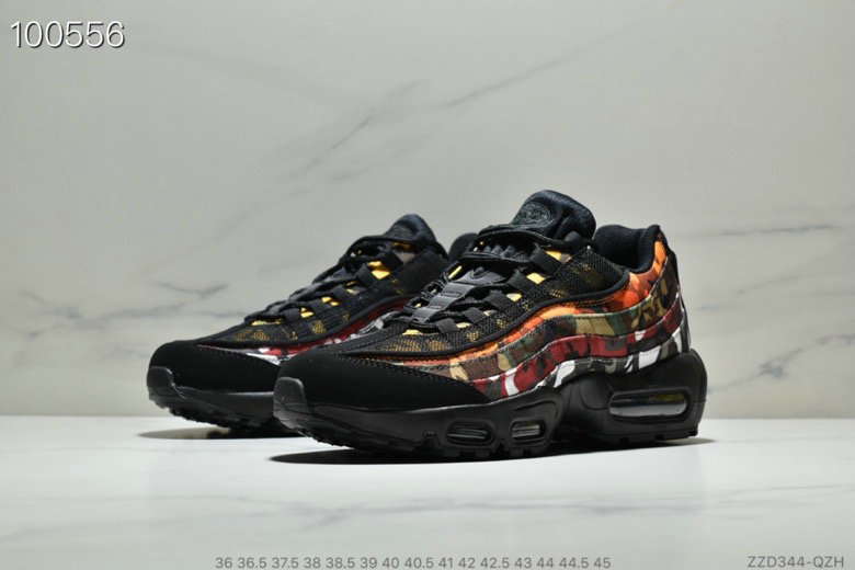Cheap Wholesale WMNS Nike Air Max 95 HALhes 95 Gold Red Black - www.wholesaleflyknit.com