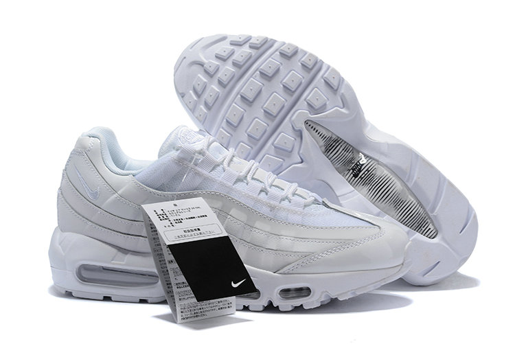 Cheap Wholesale WMNS Nike Air Max 95 HALhes 95 Triple White - www.wholesaleflyknit.com