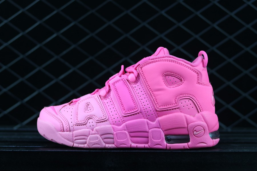 Wholesale Cheap WMNS Nike Air More Uptempo All Pink 2018 For Sale - www.wholesaleflyknit.com