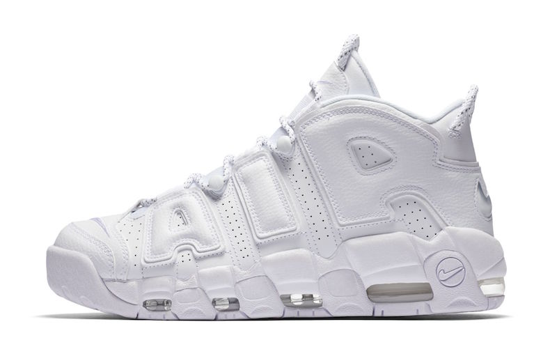 Wholesale Cheap WMNS Nike Air More Uptempo Triple White 2017 For Sale - www.wholesaleflyknit.com