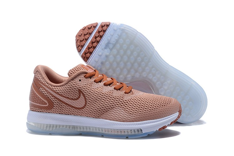 Wholesale Cheap WMNS Nike Zoom All Out Low 2 Running Dusty Peach Metallic Red Bronze - www.wholesaleflyknit.com