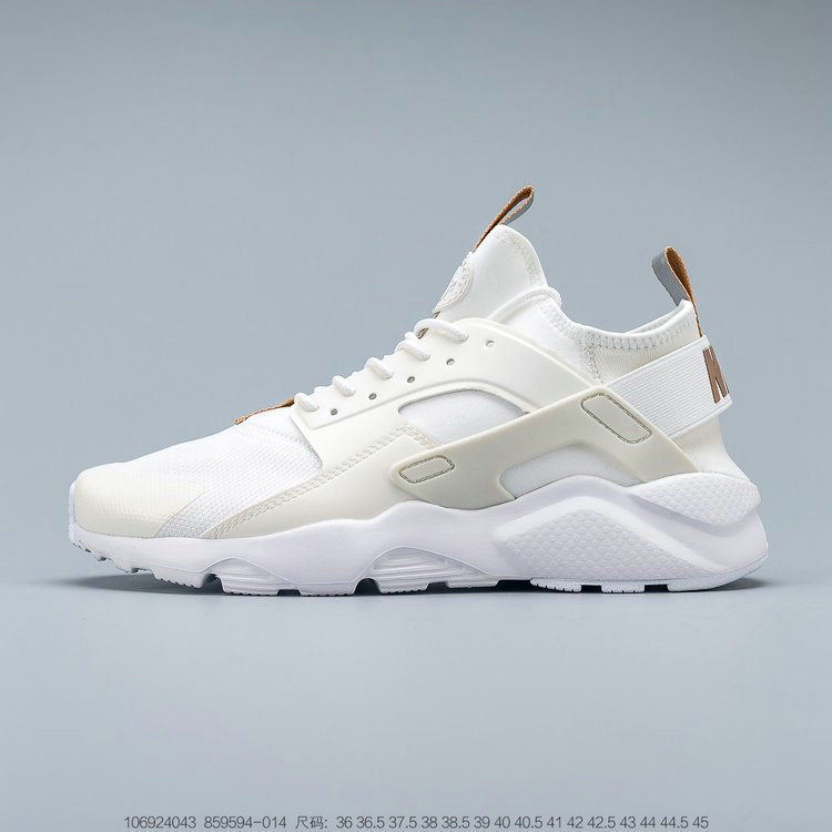 Where To Buy 2019 Womens Cheap Wholesale Nike Air Huarache Ultra Suede ID Rice White Light Brown Riz Blanc Brun Clair 859594-014 - www.wholesaleflyknit.com