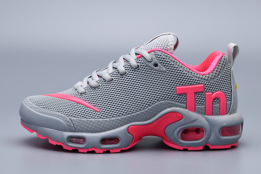 Where To Buy 2019 Womens Cheap Wholesale Nike Air Max Plus TN Grey Pink - www.wholesaleflyknit.com