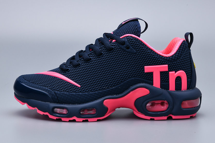 Where To Buy 2019 Womens Cheap Wholesale Nike Air Max Plus TN Pink Navy Blue - www.wholesaleflyknit.com