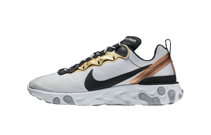 Where To Buy 2019 Womens Cheap Wholesale Nike React Element 55 Lucid Platinum CD7627-001 - www.wholesaleflyknit.com
