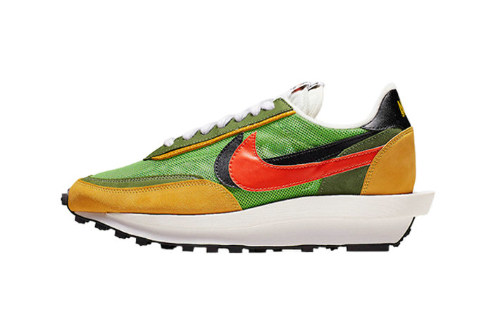 Where To Buy 2019 Womens Cheap Wholesale Sacai x Nike LDV Waffle Daybreak Green BV0073-300 - www.wholesaleflyknit.com