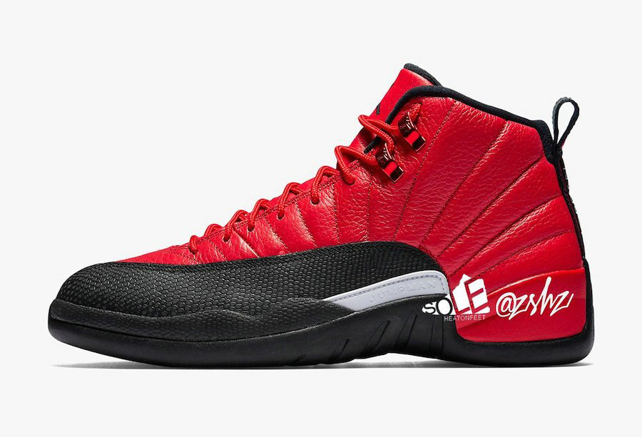 Where To Buy 2020 Cheap Wholesale Nike Air Jordan 12 Reverse Flu Game Varsity Red Black CT8013-602 - www.wholesaleflyknit.com