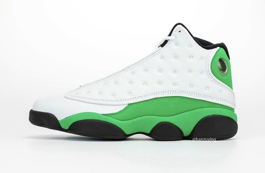 Where To Buy 2020 Cheap Wholesale Nike Air Jordan 13 3M White Black-Lucky Green DB6537-113 - www.wholesaleflyknit.com