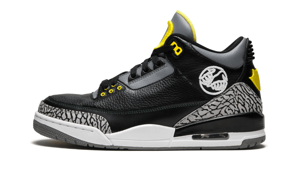 Where To Buy 2020 Cheap Wholesale Nike Air Jordan 3 Oregon Ducks Pit Crew Black Cement Grey-Dark Forest Green-White-Varsity Maize HO11-MNJDLS-5 - www.wholesaleflyknit.com