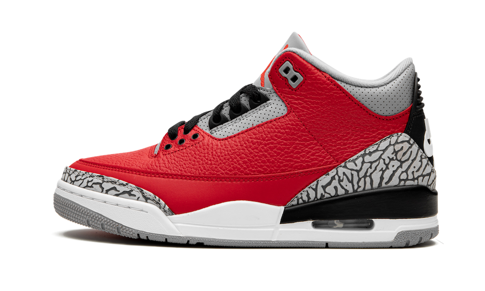 Where To Buy 2020 Cheap Wholesale Nike Air Jordan 3 Red Cement - www.wholesaleflyknit.com