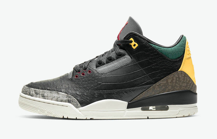 Where To Buy 2020 Cheap Wholesale Nike Air Jordan 3 SE Animal Instinct Black Dark Mocha-Rope-Multi-Color CK4344-002 - www.wholesaleflyknit.com