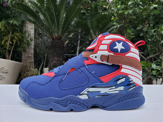 Where To Buy 2020 Cheap Wholesale Nike Air Jordan 8 Royal Blue Red - www.wholesaleflyknit.com