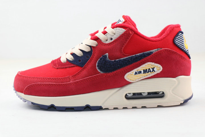 Where To Buy 2020 Cheap Wholesale Nike Air MAX 90 Vaserty Pack University Red 858954-600 - www.wholesaleflyknit.com