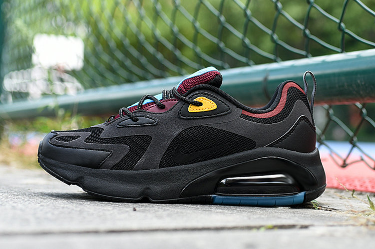 Where To Buy 2020 Cheap Wholesale Nike Air Max 200 Black Anthracite-Bordeaux AQ2568-001 - www.wholesaleflyknit.com