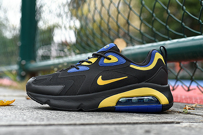 Where To Buy 2020 Cheap Wholesale Nike Air Max 200 Black Gold AQ2568-004 - www.wholesaleflyknit.com