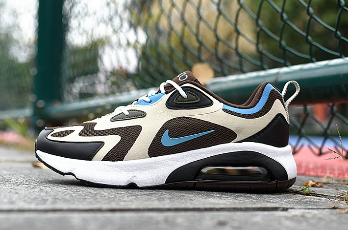Where To Buy 2020 Cheap Wholesale Nike Air Max 200 Brown Pastel Blue AQ2568-200 - www.wholesaleflyknit.com