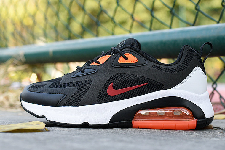 Where To Buy 2020 Cheap Wholesale Nike Air Max 200 Red Rouge Black White Orange - www.wholesaleflyknit.com
